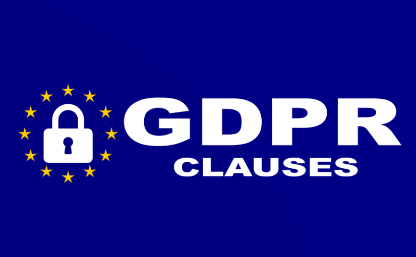 GDPR clauses